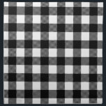 "Black &amp; White Preppy Buffalo Check Plaid Napkin<br><div class=""desc"">Preppy Buffalo Check Plaid Country Gingham Checkered Pattern</div>"