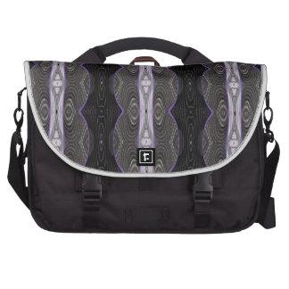 black white purple design bags for laptop