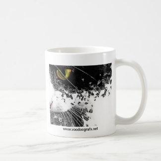 Black & White Pussycat Coffee Mug