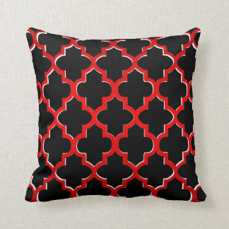Red Black White Decorative Pillows : Red Black And White Pillows - Decorative & Throw Pillows Zazzle