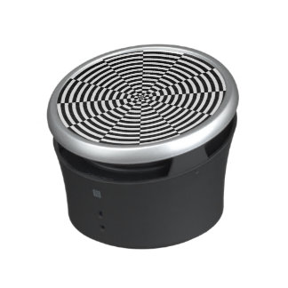 Black & White Radiation Bluetooth Speaker