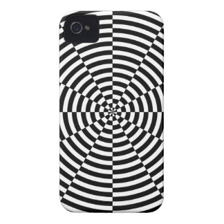 Black & White Radiation by Kenneth Yoncich iPhone 4 Case