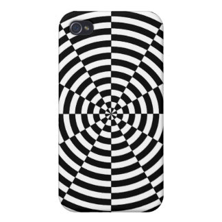 Black & White Radiation by Kenneth Yoncich iPhone 4 Cover