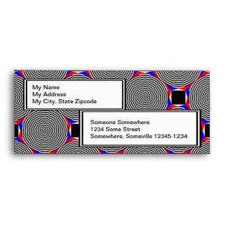 Black & White Radiation Envelopes