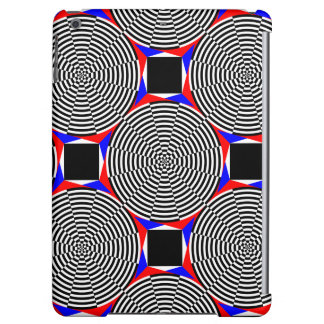 Black White Radiation Cover For iPad Air