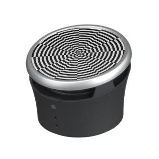 Black & White Radiation Bluetooth Speaker
