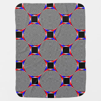 Black & White Radiation Swaddle Blanket
