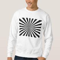 Black & White Rays Sweatshirt