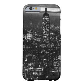 Black White Retro New York City iPhone 6 Case