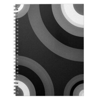 Black&White Retro Pattern Notebook