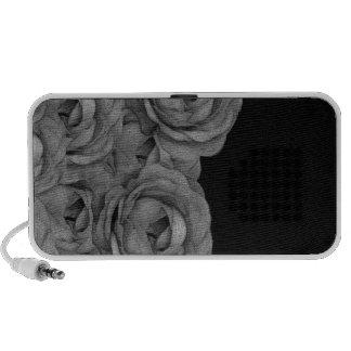 Black&White Roses iPod Speaker