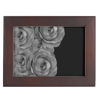 Black&White Roses Memory Box
