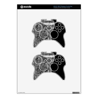 Black&White Roses Xbox 360 Controller Skins