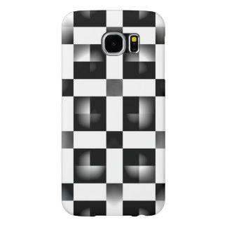 Black & white samsung galaxy s6 cases
