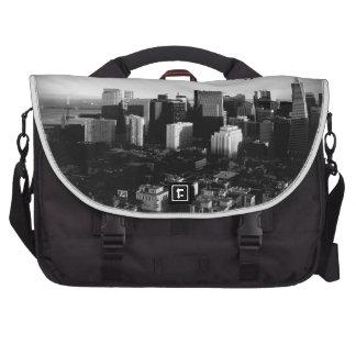Black & White San Francisco Bags For Laptop