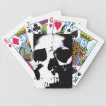 Black & White Skull Card Deck