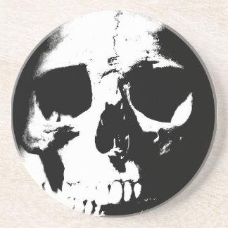 Black & White Skull Coaster