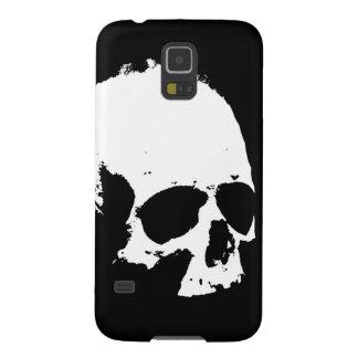 Black & White Skull Galaxy S5 Case