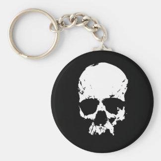 Black & White Skull Keychains