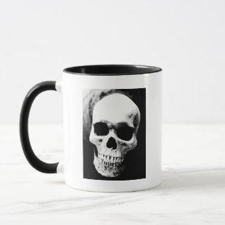 Black & White Skull Mug