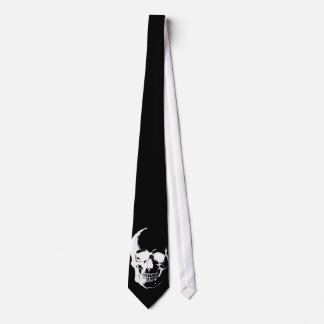 Black & White Skull Neck Ties