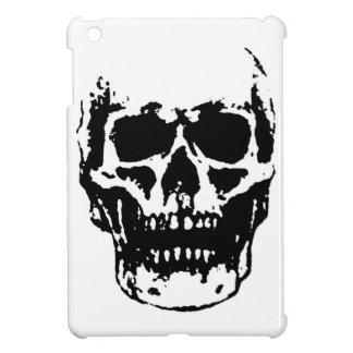 Black White Skull Pop Art Cover For The iPad Mini