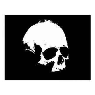Black & White Skull Postcards