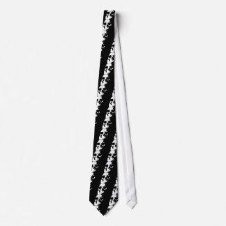 Black & White Skull Tie