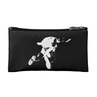 Black & White Skydiving Cosmetic Bag