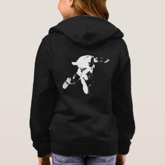 Black & White Skydiving Hoodie