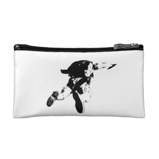 Black & White Skydiving Makeup Bag