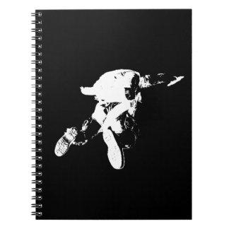 Black & White Skydiving Notebook