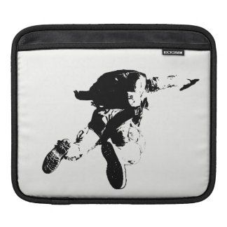 Black & White Skydiving Sleeve For iPads
