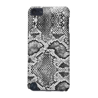 Black & White Snakeskin Pattern iPod Touch 5G Covers