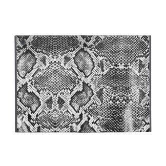 Black & White Snakeskin pattern iPad Mini Cover