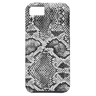 Black & White Snakeskin Pattern iPhone 5 Covers