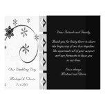 Black & White Snowflake Wonderland Set Flyer Design
