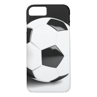 Black White Soccer Ball iPhone 8/7 Case