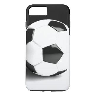 Black White Soccer Ball iPhone 8 Plus/7 Plus Case