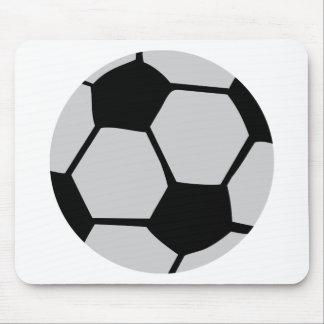 black white soccer ball mouse pads