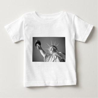 Black White Statue of Liberty Baby T-Shirt