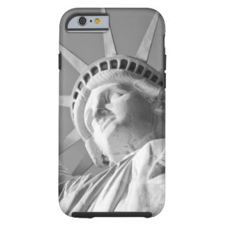 Black White Statue of Liberty Tough iPhone 6 Case