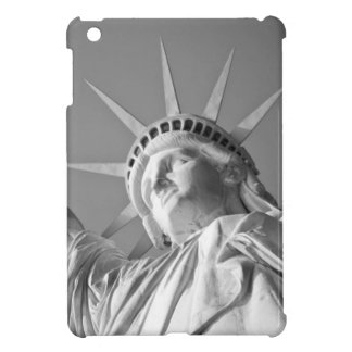 Black White Statue of Liberty Case For The iPad Mini