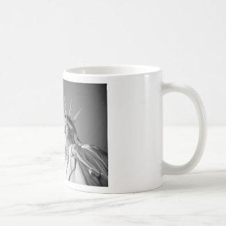 Black White Statue of Liberty Coffee Mug