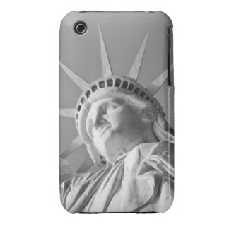 Black White Statue of Liberty iPhone 3 Cover