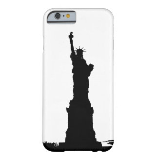 Black White Statue of Liberty iPhone 6 Case