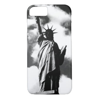 Black & White Statue of Liberty iPhone 7 Case