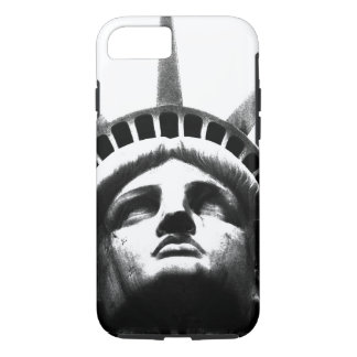 Black White Statue of Liberty iPhone 7 Case