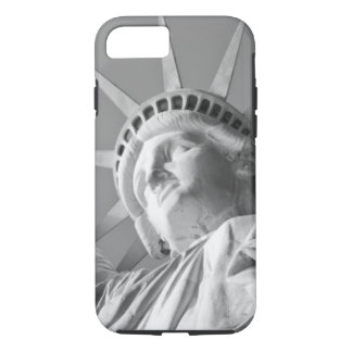 Black White Statue of Liberty iPhone 8/7 Case