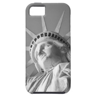 Black White Statue of Liberty iPhone SE/5/5s Case